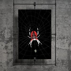 The Red Widow Spider